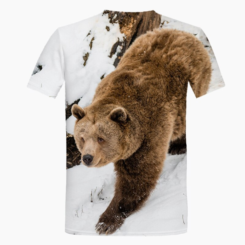 Grizzly Bear T-Shirt Back