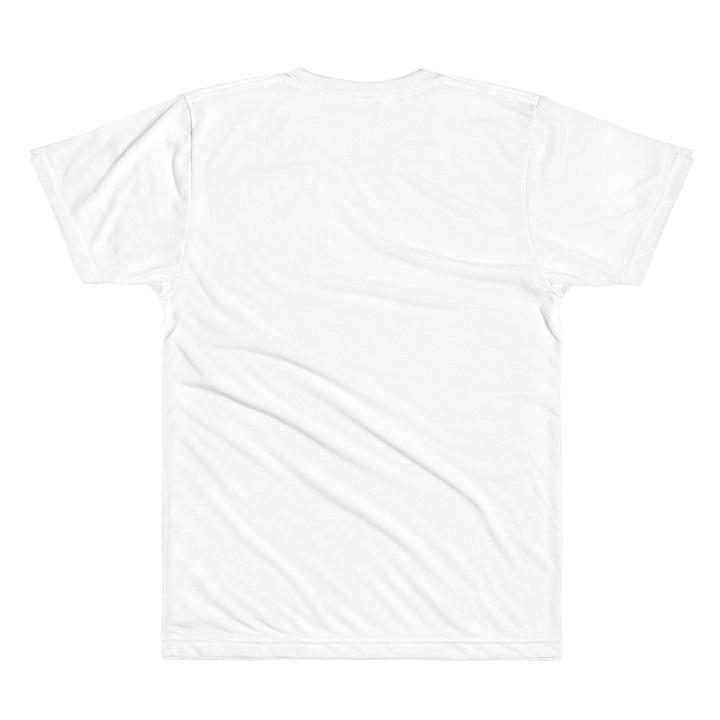 Indian American Wolf T-Shirt - White Back